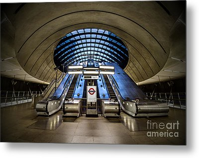 Bound For The Underground Metal Print by Evelina Kremsdorf