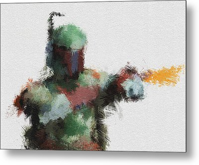 Bounty Hunter Metal Print by Miranda Sether