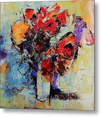 Bouquet De Couleurs Metal Print by Elise Palmigiani