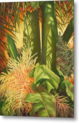 Bouquet Of Palm Metal Print by Monica Linville