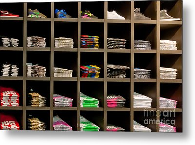 Brand Order Metal Print by Andy Smy