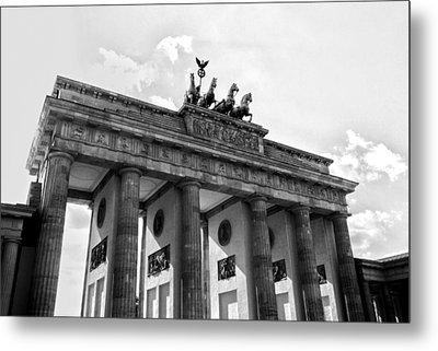 Brandenburg Gate - Berlin Metal Print by Juergen Weiss