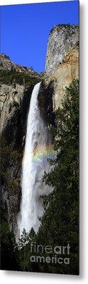 Bridalveil Falls - Yosemite Metal Print by Deby Dixon
