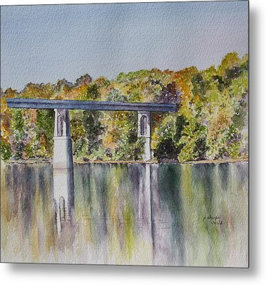 Bridge Over The Cumberland Metal Print by Patsy Sharpe
