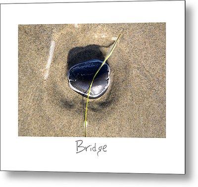 Bridge Metal Print by Peter Tellone