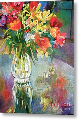 Bright Reflections Metal Print by Reveille Kennedy