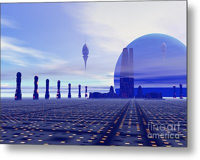 Brighthaven 12 Metal Print by Corey Ford