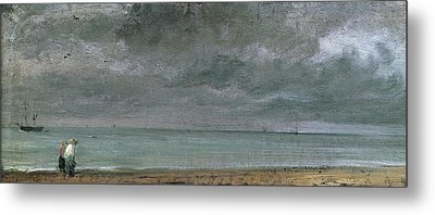 Brighton Beach Metal Print by John Constable