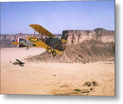Bristol Fighter - Aden Protectorate  Metal Print by Pat Speirs