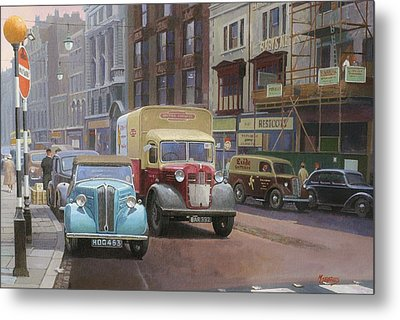 British Railways Austin K2 Metal Print by Mike  Jeffries