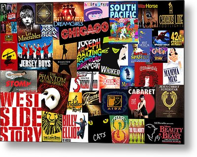Broadway 3 Metal Print by Andrew Fare