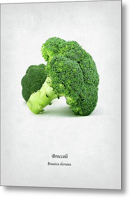 Broccoli Metal Print by Mark Rogan