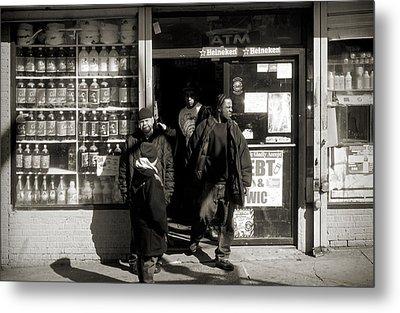 Bronx Scene Metal Print by RicardMN Photography