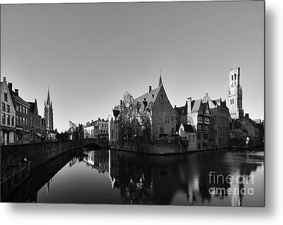 Bruges Metal Print by Stephen Smith