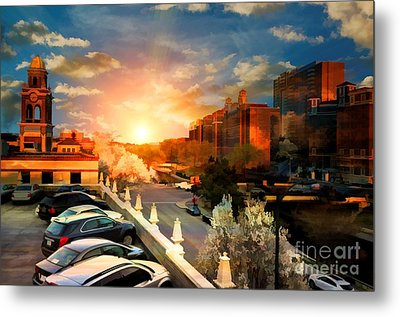Brush Creek Kansas City Missouri Metal Print by Liane Wright