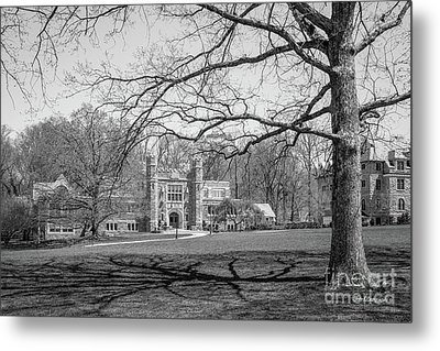 Bryn Mawr College Campus Center Metal Print by University Icons