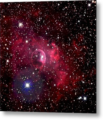 Bubble Nebula Metal Print by Jim DeLillo