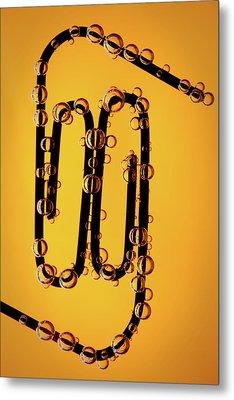 Bubble Race Metal Print by Marc Garrido