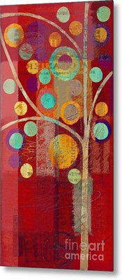 Bubble Tree - 85lc13-j678888 Metal Print by Variance Collections