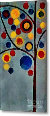 Bubble Tree - Dps02c02f - Left Metal Print by Variance Collections