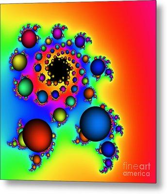Bubbles Three Metal Print by Rolf Bertram