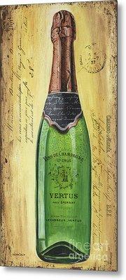 Bubbly Champagne 2 Metal Print by Debbie DeWitt