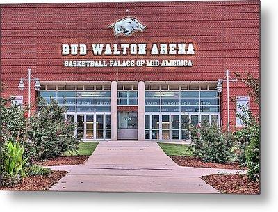 Bud Walton Arena Metal Print by JC Findley