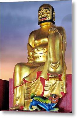 Buddha Metal Print by Christine Till