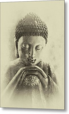 Buddha Dream Metal Print by Madeleine Forsberg