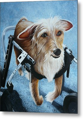 Buddy's Hope Metal Print by Vic Ritchey