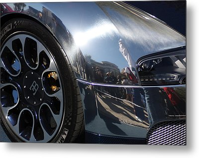 Bugatti Front Metal Print by Michael Albright