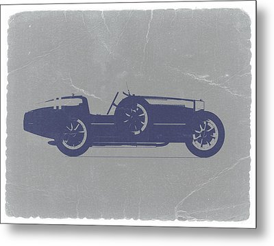 Bugatti Type 35 Metal Print by Naxart Studio