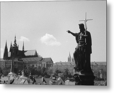 Build My Church Metal Print by Allan McConnell
