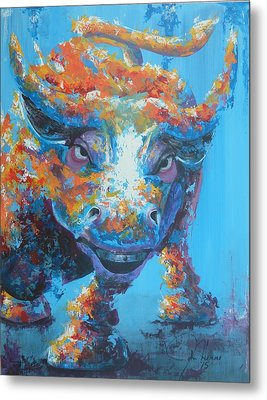 Bull Market C1 Metal Print by John Henne