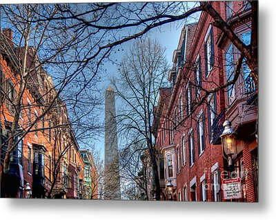 Bunker Hill Metal Print by Susan Cole Kelly
