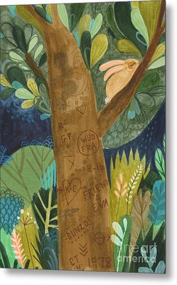 Bunzo And The Tattoo Tree Metal Print by Kate Cosgrove