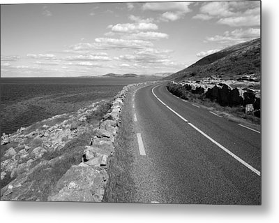Burren Road Metal Print by John Quinn
