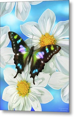 Butterfly 2 Metal Print by JQ Licensing