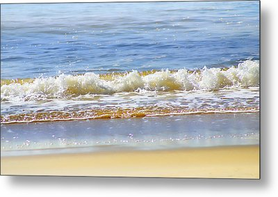 By The Coral Sea Metal Print by Holly Kempe