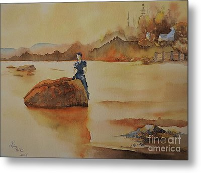 By The Sea  Metal Print by Lise PICHE