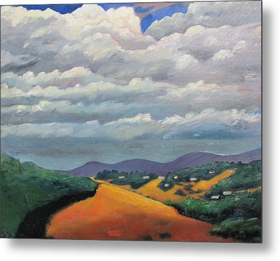 Ca Cloudscape Metal Print by Gary Coleman