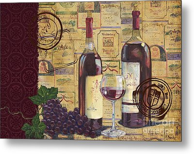 Cabernet Valley Metal Print by Paul Brent