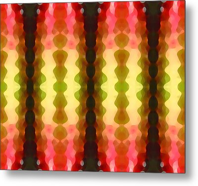 Cactus Vibrations 1 Metal Print by Amy Vangsgard