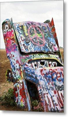 Cadillac Ranch Metal Print by Marilyn Hunt