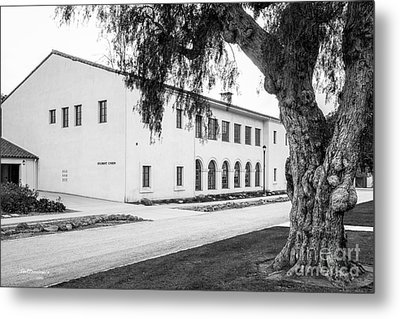 Cal State University Channel Islands Student Union Metal Print by University Icons