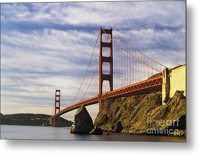 California, San Francisco Metal Print by Larry Dale Gordon - Printscapes