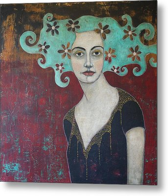 Calling From The Deep Metal Print by Jane Spakowsky
