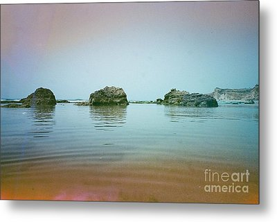 Calm At Sea Metal Print by Esther Bezalel