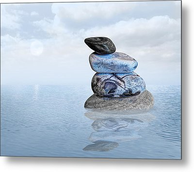 Calm Waters Metal Print by Gill Billington