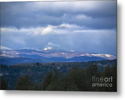 Camel's Hump Mountain  Metal Print by Diane Diederich